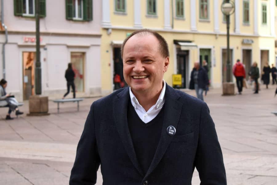 Nezavisni kandidat Davor Štimac
